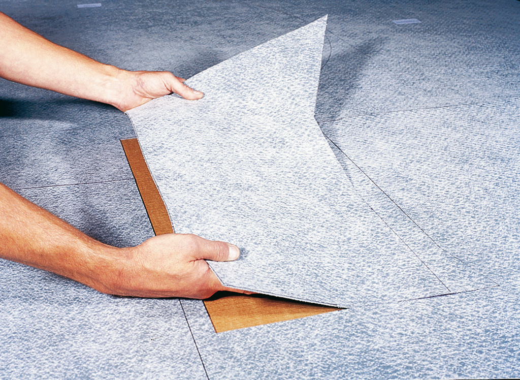 visuel Traveller Kit System <br> Pre-Cut and Pre-Welded Flooring